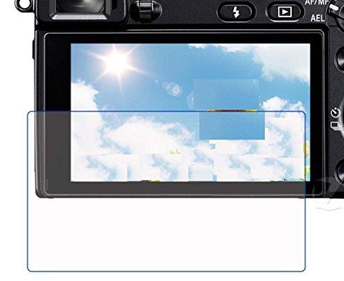 3PCS 0.3mm Optical 9H Anti-scratches Anti Dust Tempered Optical Glass Screen Protector Guard Film For Sony a6300 a5000 a6000 DSLR Alpha NEX7/NEX6/NEX5 Nex-7 NEX-6 NEX-5 (Screen Protector For Sony A6000)