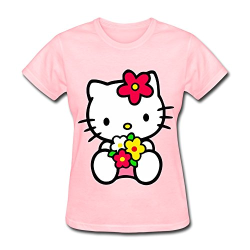 Hello Kitty T-shirt For Women O-Neck