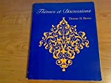 Themes et Discussions, Brown, Thomas H., 0669028444