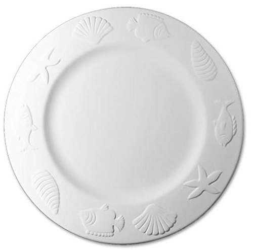 Cape Cod Dinner Plate - Paint Your Own Ceramic Keepsake