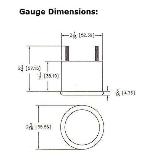 vdo cht gauge wiring diagram dakota round cylinder head temperature gauge blue display slx 11 1 new  round cylinder head temperature gauge