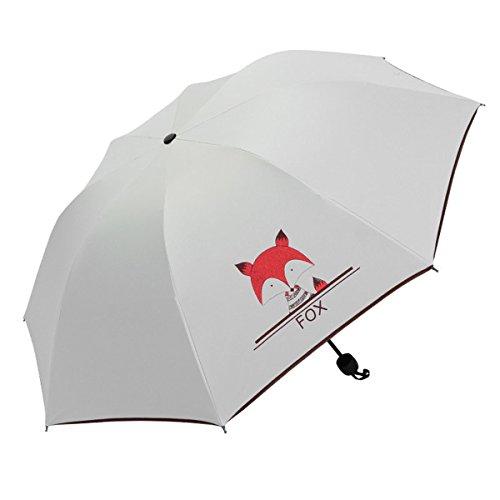 Taschenschirm - Mini Regenschirm - Regenschirm - UV undurchlässig Schirm-Tasche & Reise-Etui IGdoHF1eQH
