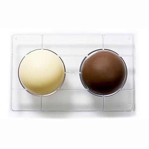 16dbf62ed4d Decora Molde de Chocolate 1 2 de Esfera
