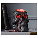 Hyde and Eek! Boutique Halloween Bleeding Skull Candle Black Perfect for Party's & Decorations