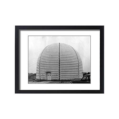 (Media Storehouse Framed 24x18 Print of Satellite Station)