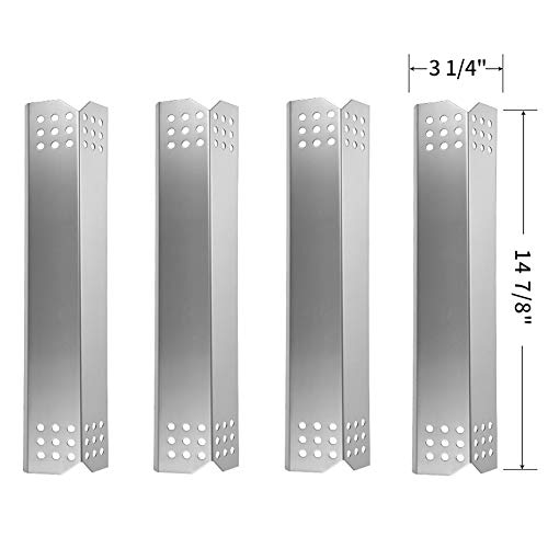 Buy Cheap SHINESTAR Heat Plates for Master Forge Grill Parts 1010037, 1010048 Replacement, Brinkmann...