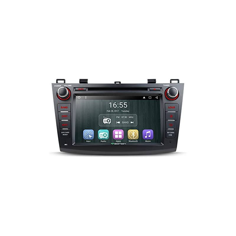 Eonon GA7163 Android 6 0 Car DVD Player Special for Mazda 3 2010-2013 Quad  Core Marshmallow in Dash GPS Radio Stereo 8 Inch 2 DIN Touch Screen
