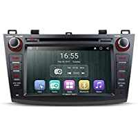 Eonon GA7163 Android 6.0 Car DVD Player Special for Mazda 3 2010-2013 Quad Core Marshmallow In Dash GPS Radio Stereo 8 Inch 2 DIN Touch Screen Bluetooth 4.0 Subwoofer Volume Control