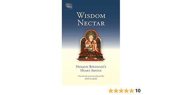 Wisdom Nectar: Dudjom Rinpoches Heart Advice Tsadra ...