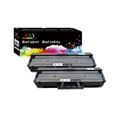 EBY Compatible Replacement Toner Cartridge Replacement for Samsung MLT-D111S ( Black , 2 pk ) ()