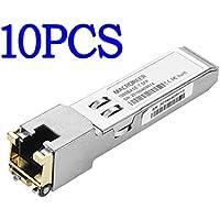 Macroreer HP JD089B Compatible Gigabit RJ45 Transceiver 1000BASE-T Copper SFP Module 100m(10Pack)