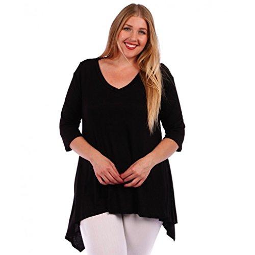 Temptation Clothing Plus Size Short Sleeve Blouse Top Shirt Size 3x