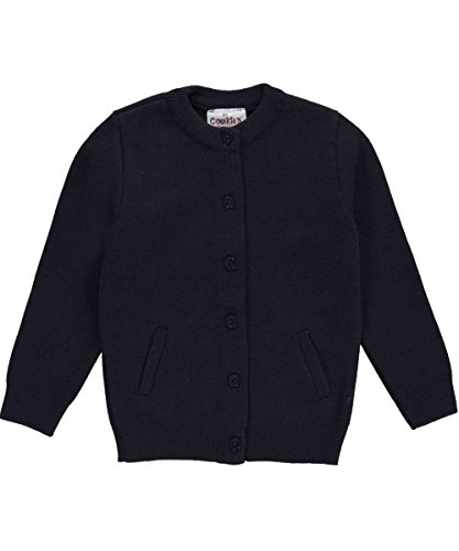 Cookie's Brand Little Boys' Cardigan Sweater - navy, 4-5 by Cookie's Kids