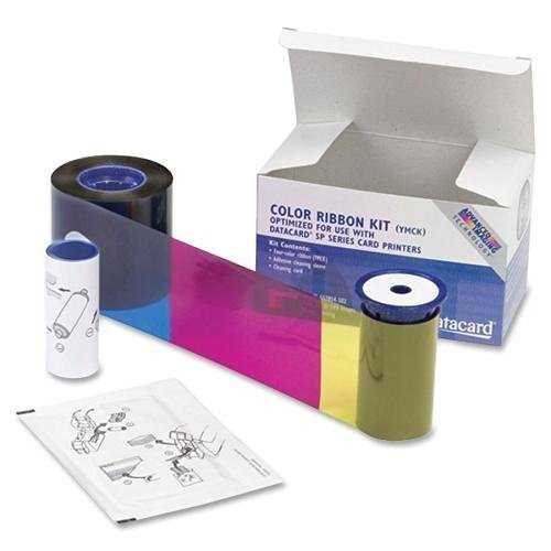 Datacard 534000 002 Color Ribbon & Cleaning Kit YMCKT 250 Prints (534000-002)