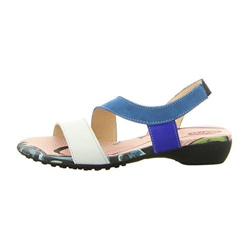 Clamp Mr Pimples Gal/Azu/Blue - Sandalias de vestir de Piel para mujer gal/azu/blue