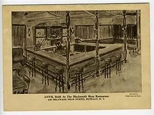 the blacksmith shop restaurant menu buffalo new york anvil