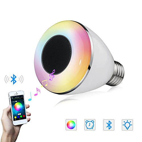 Mfeel bluetooth smart led light bulb smartphone for Bluetooth controlled light bulb