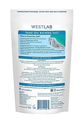 Westlab's Soothing Dead Sea Bathing Salt