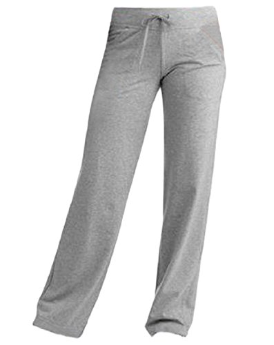 "Women's Regular Dri-More Core Relaxed Pants 32"" inseam Black Yoga, Activewear"