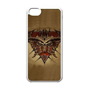 iphone5c cell phone cases White Diablo fashion phone cases HRE4524680