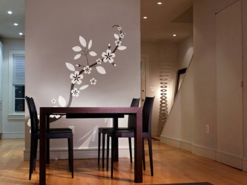 - Vinyl Wall Art Decal Sticker Asian Blossom Flower Floral 70