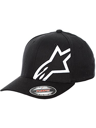 Price comparison product image Alpinestars Corp Shift 2 Flexfit Hat Black White Large / X-Large