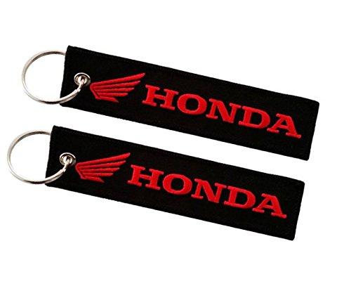 Honda double sided key ring Moto Discovery