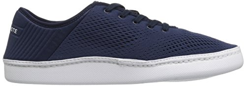 Lacoste Men's L.ydro Lace Sneakers,NVY/White Textile,10.5 M US by Lacoste (Image #7)