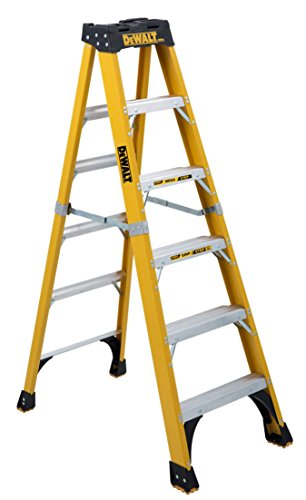 DeWalt DXL3810-06 Step Ladder, 6-Feet, Silver