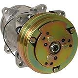 Massey Ferguson Tractor Sanden Style New Compressor w/ Clutch 9689 Part No: 1688310M2, 1688310M1-R, 1688310M2-R, 500-427, 504-1440, SW03778, SW03848, WN-1688310M2, 1206-7026, 883782613