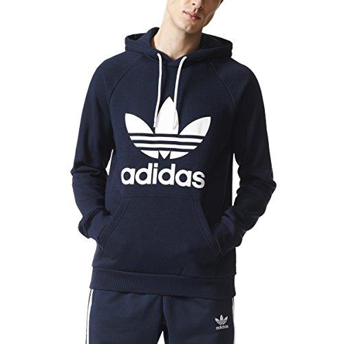 adidas Originals Men's Trefoil Hoody, Legend Ink, L