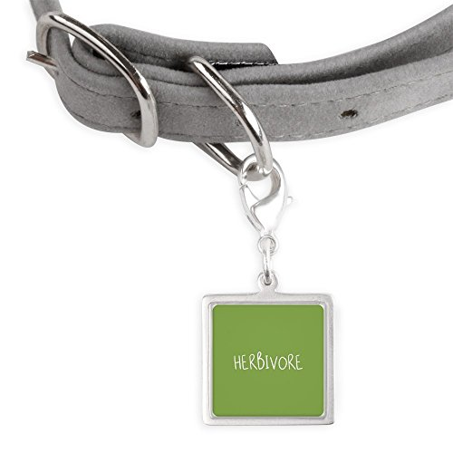 CafePress Herbivore - Small Square Pet Tag by CafePress