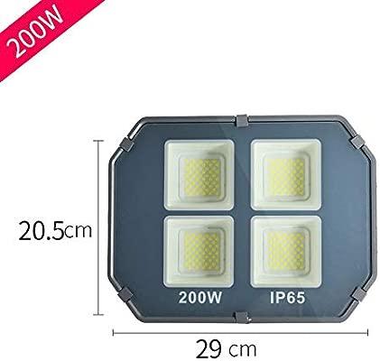 200W Foco Proyector LED Exterior, IP66 A Prueba de Agua Exterior ...