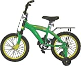 New John Deere 35016 Green Heavy Duty 16'' Training / Bike Bicycle New 9821984
