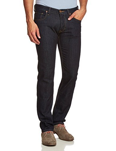 HOMMES LEE POWELL SLIM FIT TAILLE BASSE JEAN - INDIGO - W34 - L34