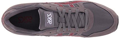 GT Grey Burgundy II Retro ASICS Sneaker xgR8B68nw