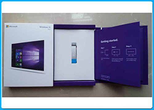 Microsoft Windows 10 Home English Usb Flash Drive: Windows 10 Professional 32 Bit/64 Bit English