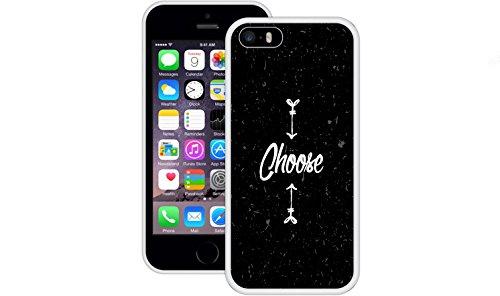 Wählen | Handgefertigt | iPhone 5 5s SE | Weiß TPU Hülle