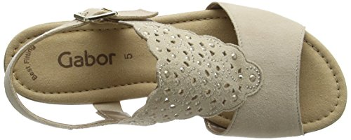 Gabor Fashion - Sandalias Mujer Beige (sesamo 13)