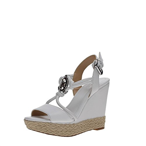 Michael Kors 40R7KYHA1L Zapatos De Cuña Mujer Optic White