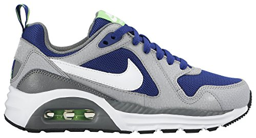 Nike Air Max Trax (GS) - Zapatillas para niño, color azul royal / blanco / negro / gris Azul royal / Blanco / Negro / Gris