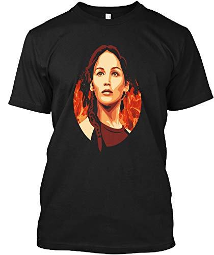 Hunger Games- The Girl On Fire Shirt - Men's Woman Funny Novelty T-Shirt-Sweatshirt-Hoodie -