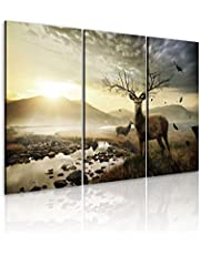 TaPLUHaT.MODERN Coated printing Tableau Set Of 3 Pieces - 110 cm x 230 cm