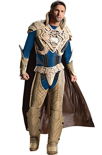 [Mememall Fashion Man of Steel Deluxe Jor-El Adult Halloween Costume] (Wicked Jester Deluxe Adult Mens Costumes)