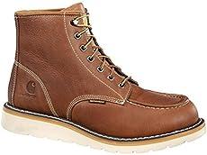 c1708bec0250 Carhartt CMW6275 Men s 6-Inch Waterproof Tan Wedge Boot ...