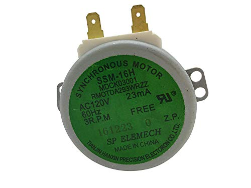 Enterpark Only Factory OEM Replacement Part Microwave Turntable Motor, - Carousel Motor