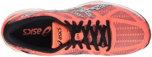 Trainer Zapatillas White Naranja 21 Coral Flash de Asics Black Gel DS Running para NC Mujer qwUREF