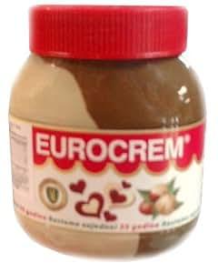 Eurocrem Hazelnut Milk and Cocoa Spread 800g