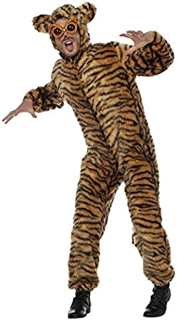 Stekarneval - Disfraz de tigre para hombre, talla UK 44 (599254 ...