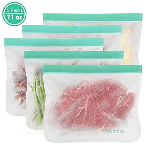 Amazon.com: Bolsas de almacenamiento de alimentos ...